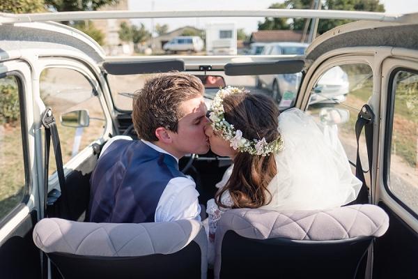 Helen Abraham Photography wedding car portrait
