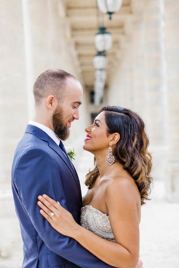 Intimate Eiffel Tower Wedding Ceremony