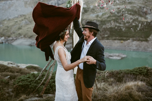 Lakeside French Wedding