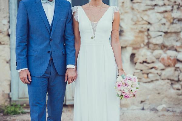 Mariés du Rhône bridal gown