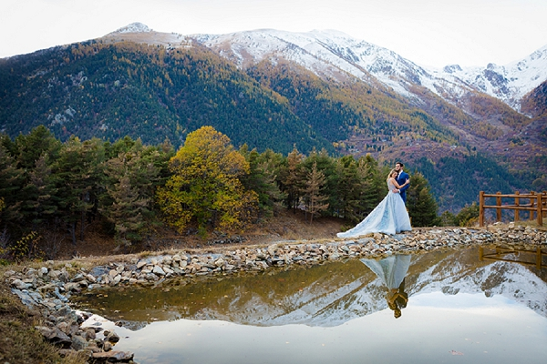 Mountain Wedding | Images by Magali Tarasco Photographer and Ekaterina Kurilovich Photographer