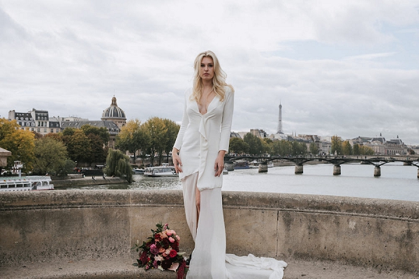 Paris wedding styled shoot
