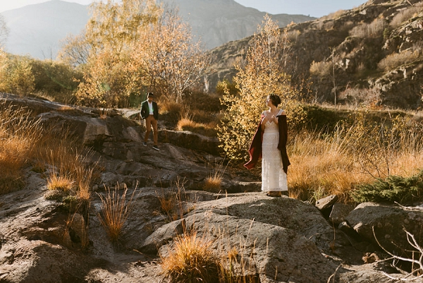 Pyrénées mountains wedding photo