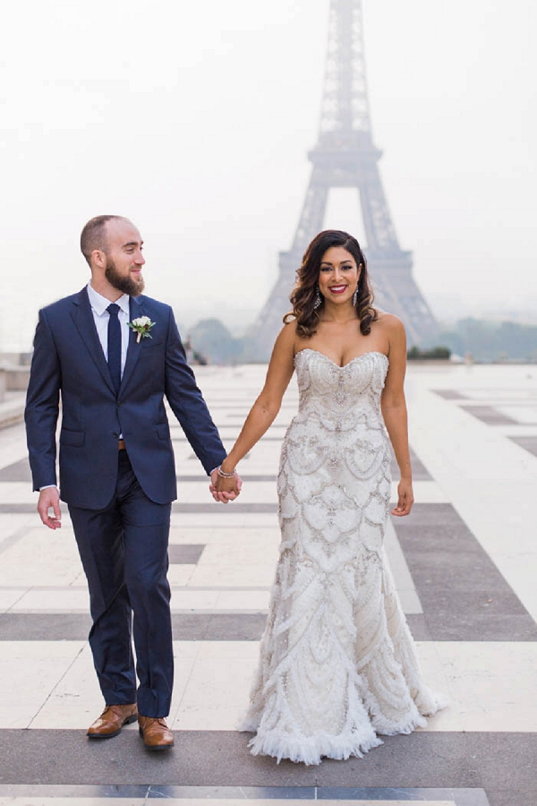 Real life Paris elopement