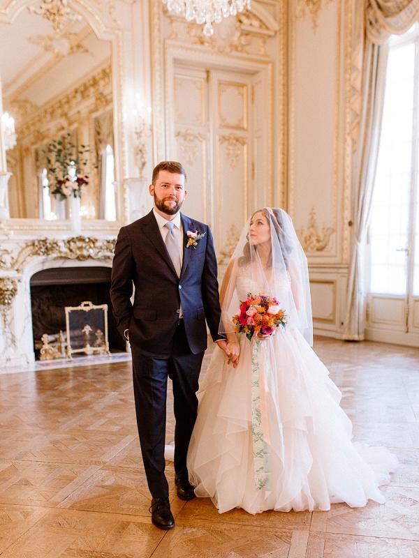 Shangri La Hotel Paris Wedding