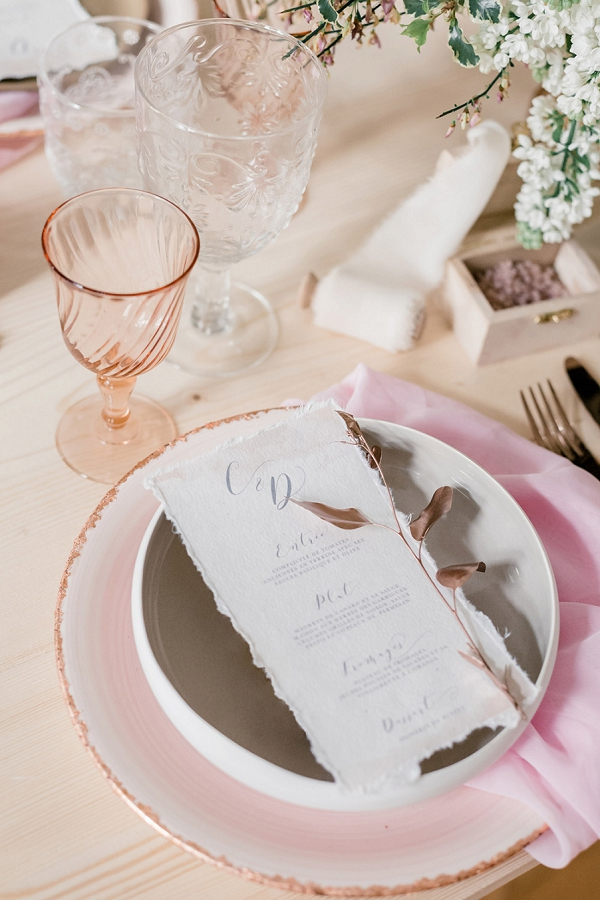 Silk and Paper wedding stationery