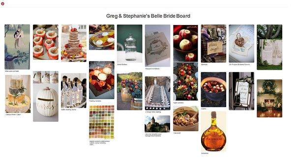 Stephanie & Greg Belle Bride Board
