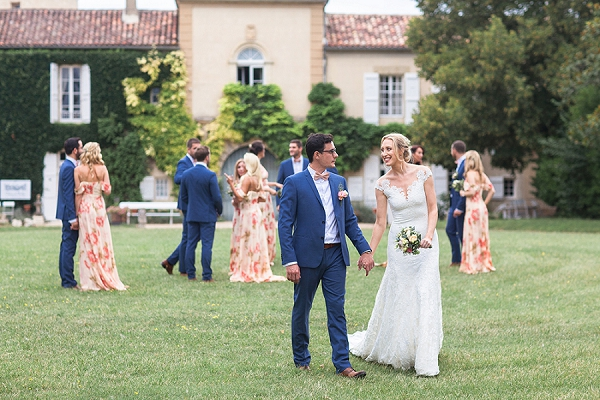 Stylish French Château De Malliac Wedding