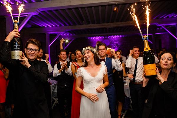 Wedding champagne ideas