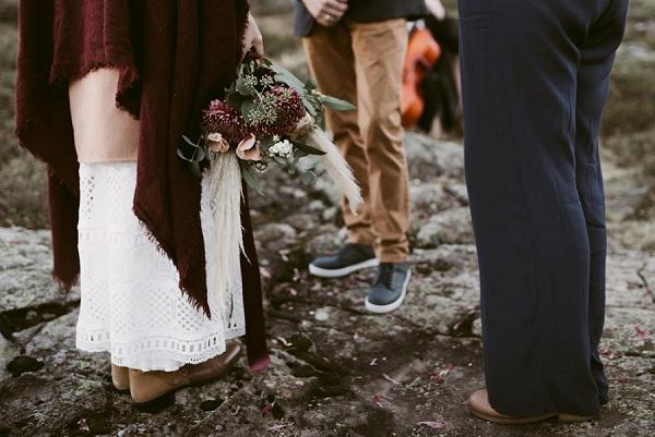 Wild and Romantic Lakeside Wedding