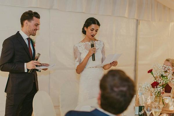 bridal wedding speech