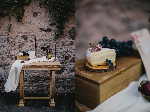 cheese station wedding