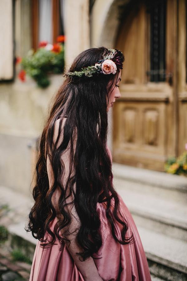 david austin rose flower crown