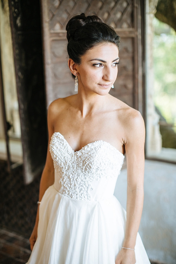 elegant french riviera bride