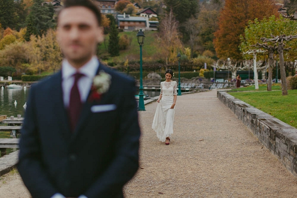 french wedding first look