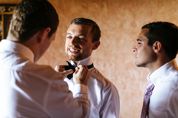 groom prep wedding photo