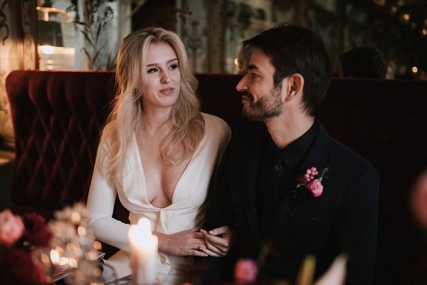 romantic paris wedding