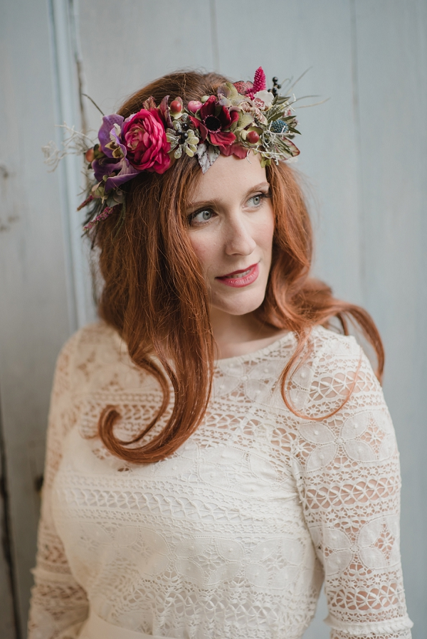 stunning flower crown