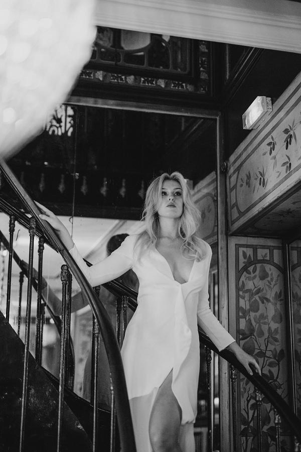 stylish wedding shoot Paris