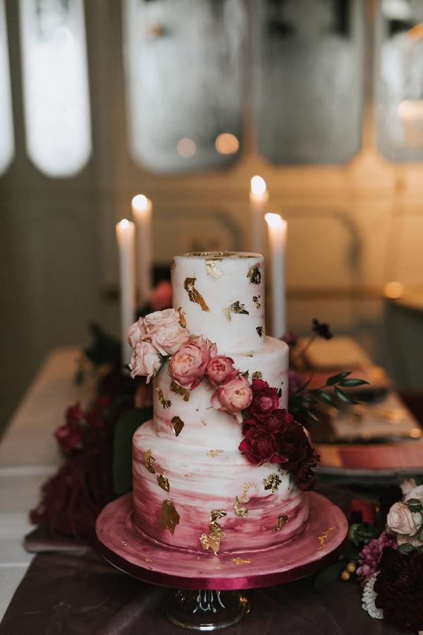 three tier wedding cake Paris