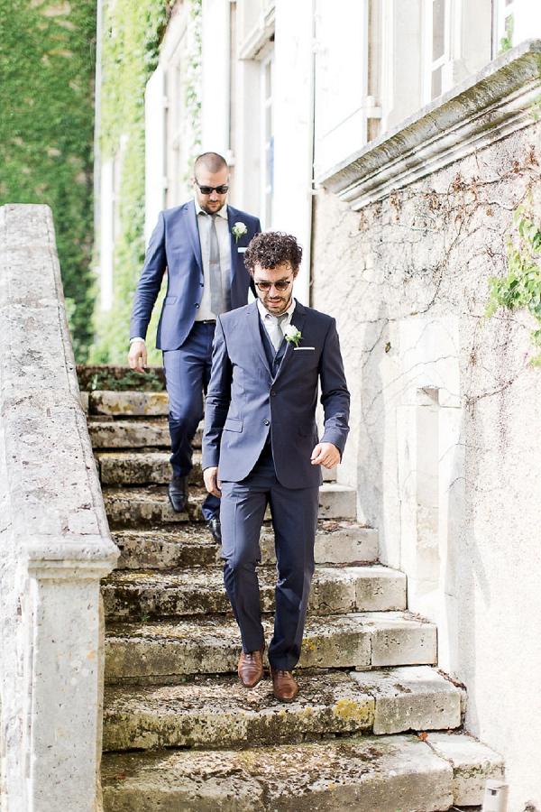 wedding day groomsmen