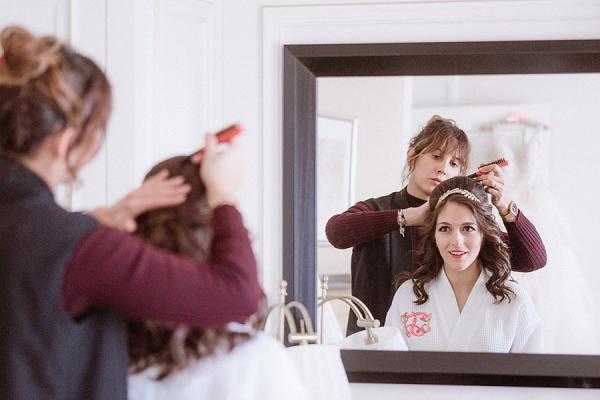 wedding hair stylist Paris
