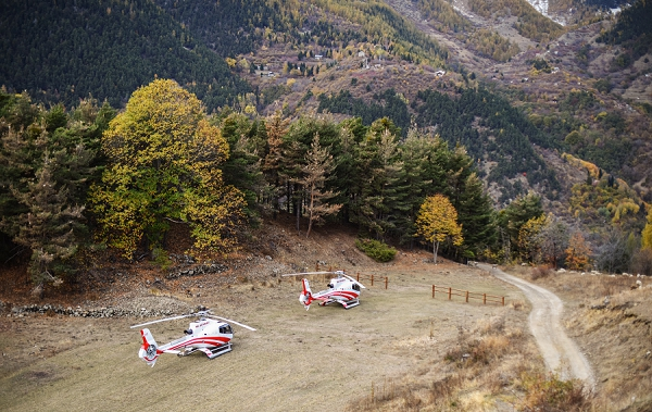 wedding helicopter hire France