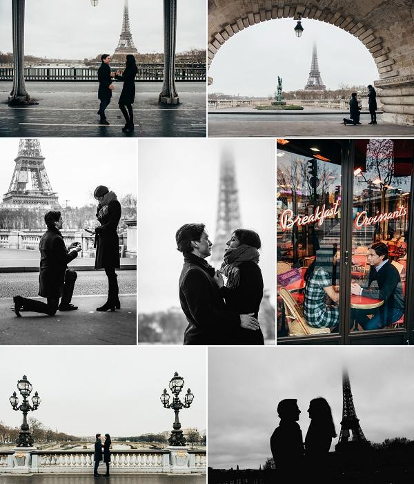 A Surprise Paris Engagement Shoot Snapshot
