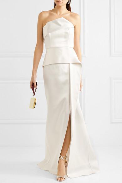 Addover satin gown