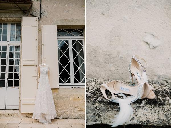Bridal details Chateau Soulac Bordeaux