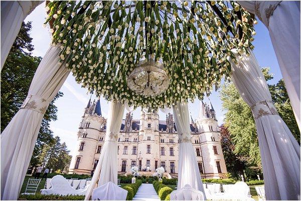 Chateau Challain Fairytale Wedding