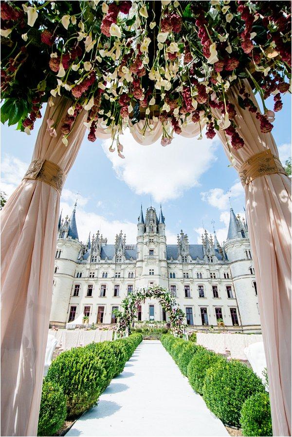 Chateau Challain Floral Decoration