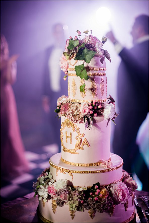 Chateau Challain Wedding Cake