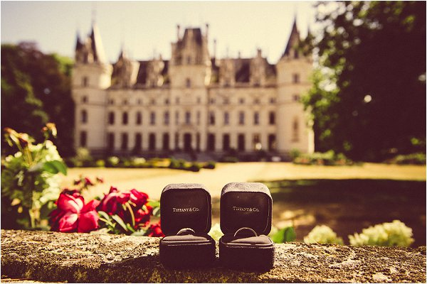 Chateau Challain Wedding Rings