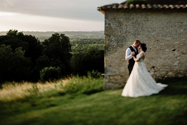 Chateau Soulac wedding potrait