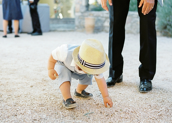 Cute child wedding outfit