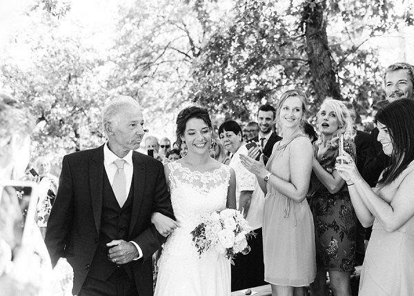 Father of the bride Provence wedding