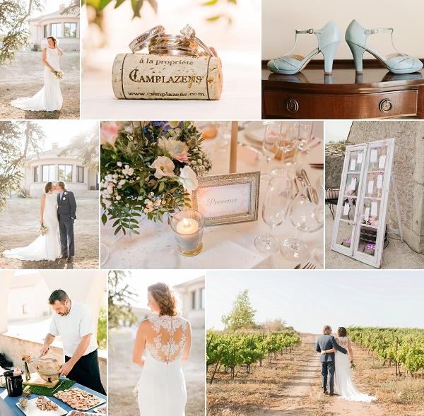 French Vineyard Wedding at Chateau Camplazens Snapshot