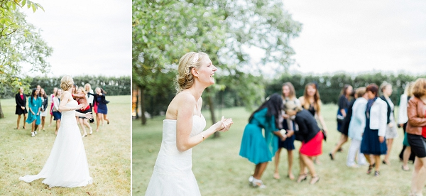 French bouquet toss