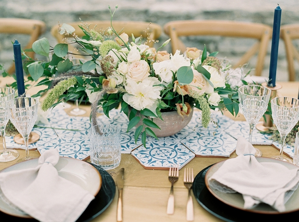 Julie Guittard florist wedding centerpiece