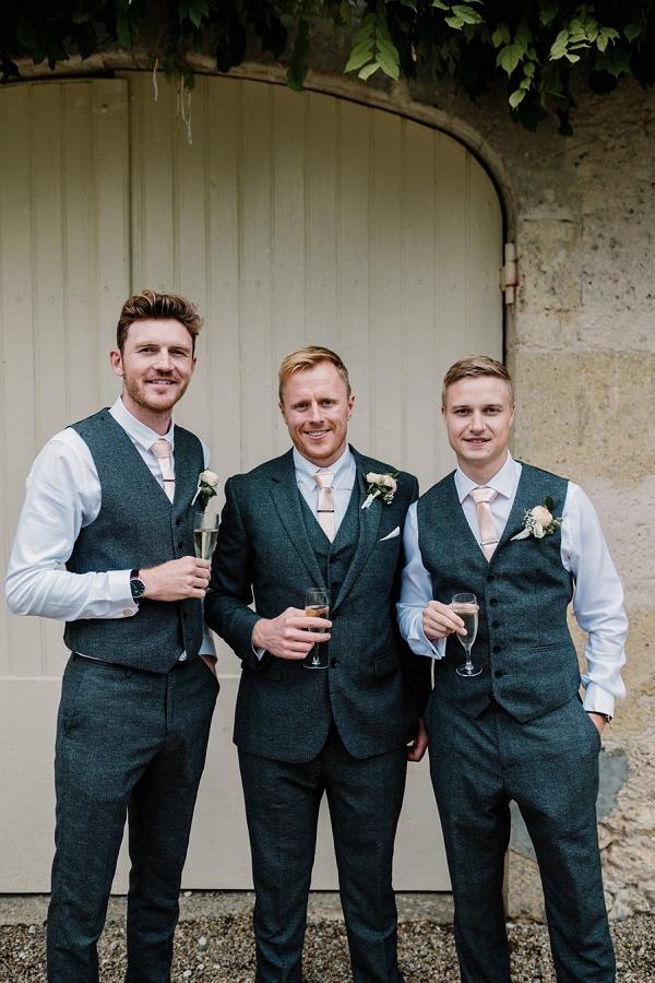 King Allen Tailors groomsmen