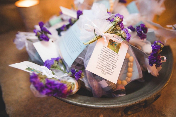 Local lavender gifts wedding favours