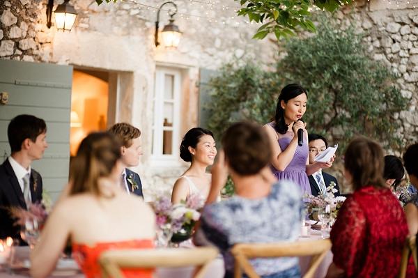 Outdoor Provence wedding