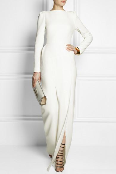 Roland Mouret Ella wool crepe gown
