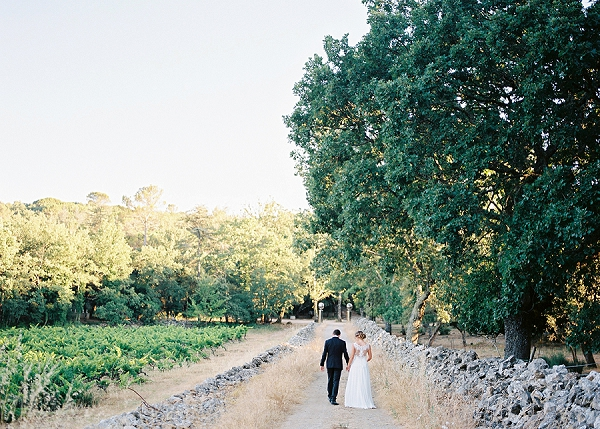 Sun drenched Destination Wedding in Provence