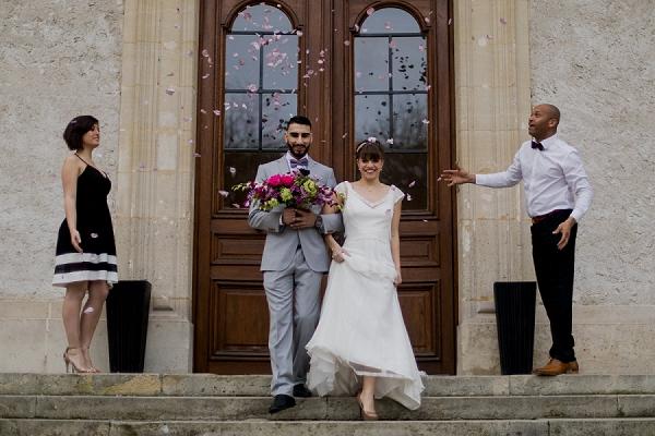 Violet Château de Santeny Wedding