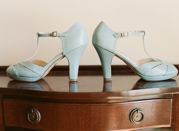 baby blue wedding shoes