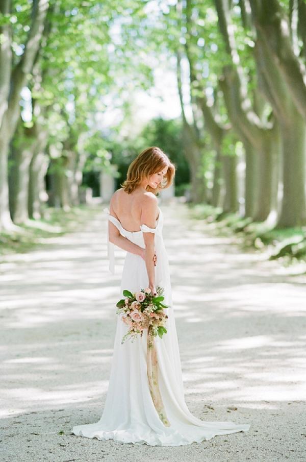 fine art bridal bouquet