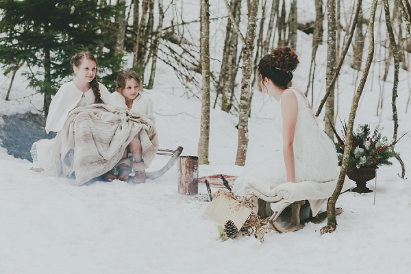 french alps outdoor ceremony