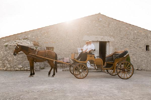 french wedding transport